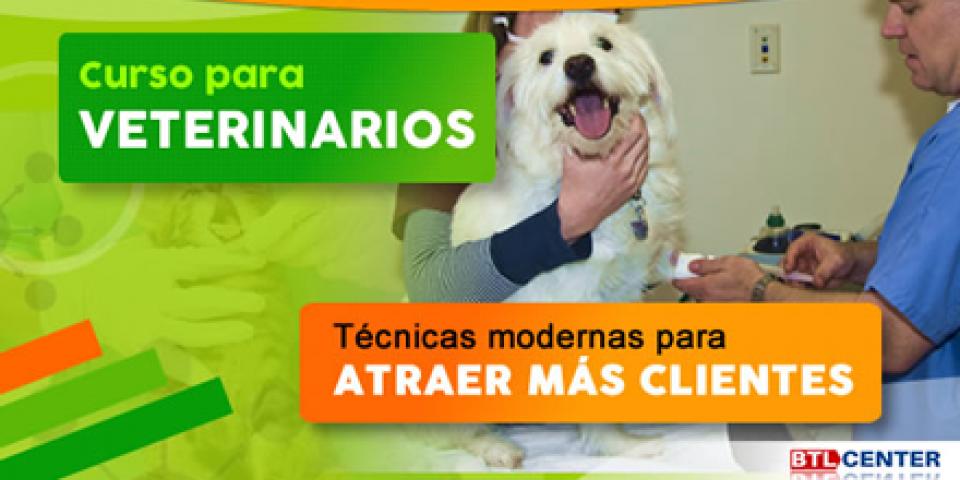 Curso para veterinarios: atraer más clientes y más ganancias a una clínica veterinaria