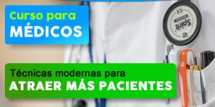 Curso para médicos – estrategias para atraer más pacientes y ganancias